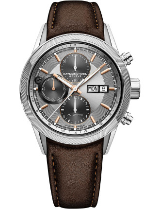 Freelancer Chronograph Watch - Leather Band