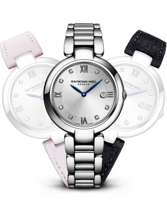 Shine Repetto Quartz Watch with Diamonds