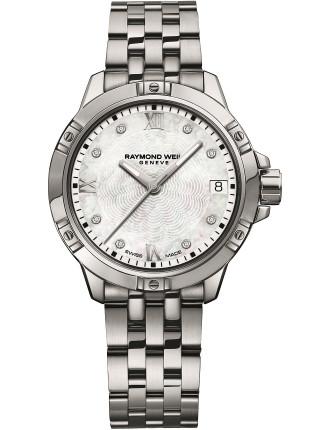 Tango Quartz Watch with Diamonds