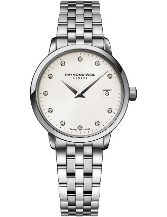 Toccata Quarts Watch with Diamonds