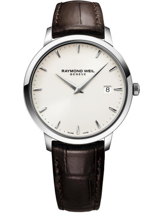 Toccata Quarts Watch - Leather Band