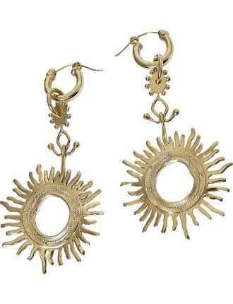 Strangerland large sun earring