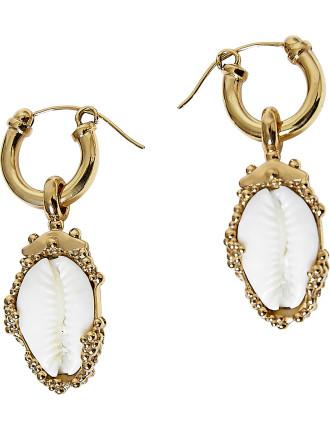 Rosalind small shell earrings
