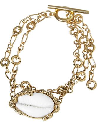 Binary shell bracelet