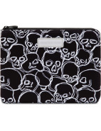 Mbmj W14 No. 1 Neoprene Neon Skulls Tablet Zip Case $55.96