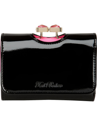 Ted Baker Bow Crystal Top Small Purse