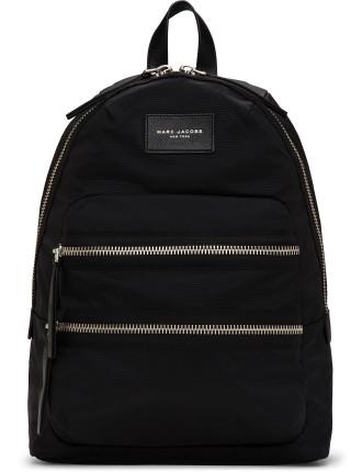 Mj S16 Nylon Biker Backpack