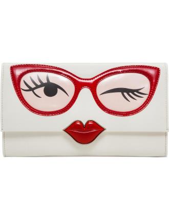 Rose Col Glasses Clutch