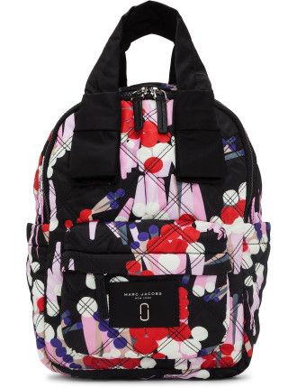 Geo Spot Printed Knot Backpack