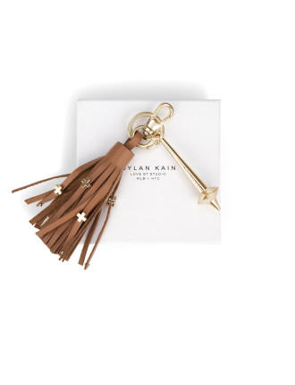 The Bowery Keychain in Tan