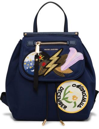 Embellished Nylon Zip Pack