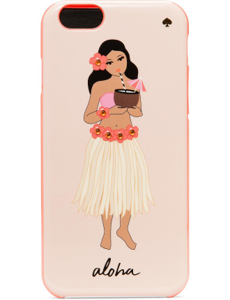 Jeweled Hula Girl Iphone 6 Case