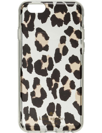 Leopard Clear Iphone 6 Case