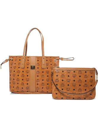 Medium Reversible Lis Visetos Tote