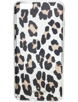 Leopard Clear - 6 Plus Iphone Cases