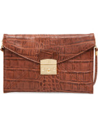 Rr New Opera Clutch In Stamped Crocodile $195.00