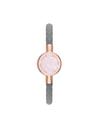 Crosby Rose Gold Diamond Siliconeslider Bracelet