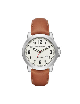 Paxton Light Brown Stainless Steel Watch