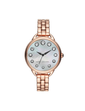 Betty Rose Gold Stainless Steel Watch