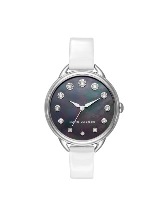 Betty White Leather And Stainless Steel Watch