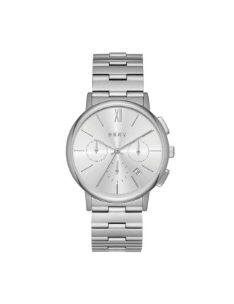 Willoughby Silver Stainless Steel Watch