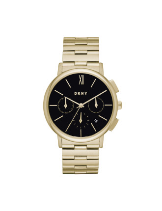 Willoughby Gold Stainless Steel Watch