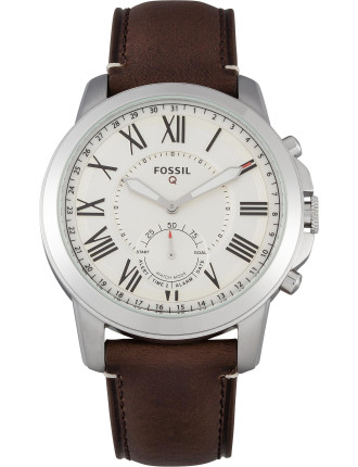 Fossil Q Grant Dark Brown Hybrid Smartwatch