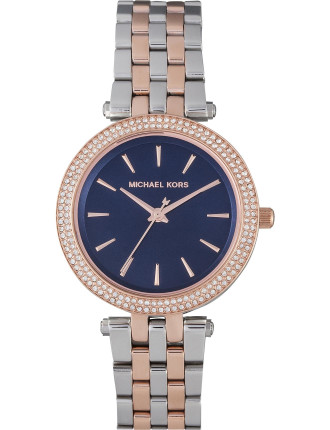 Mini Darci Metallic 2 Tone Watch
