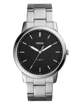 The Minimalist Silver-Tone Watch