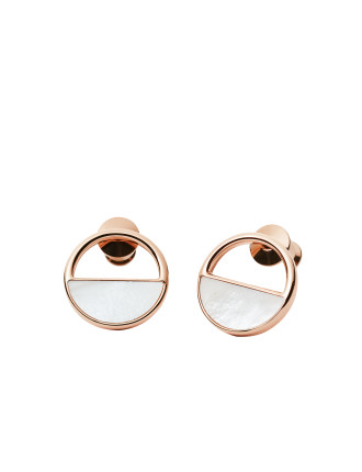 Elin & Mother Of Pearl Earrings