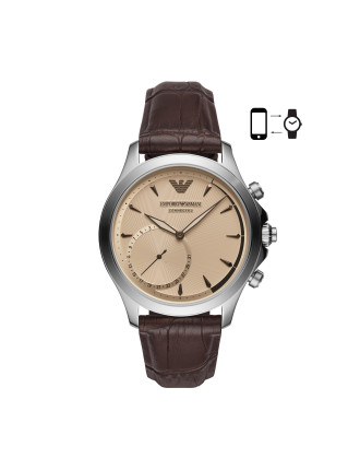 Alberto Brown Hybrid Smartwatch