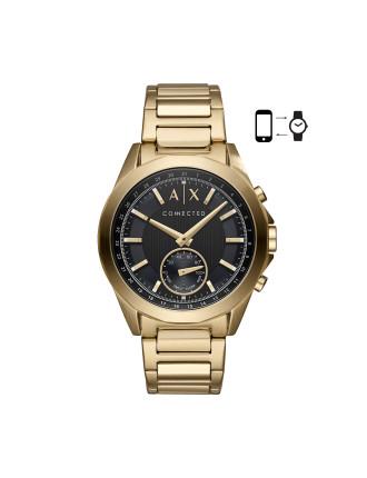 Drexler Gold Hybrid Smartwatch