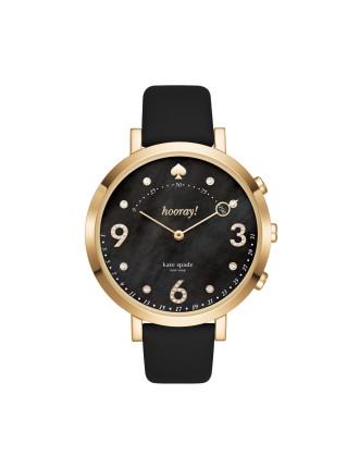 Monterey Black Hybrid Smartwatch