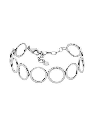 Elin Stainless Steel Silver-Tone Bracelet
