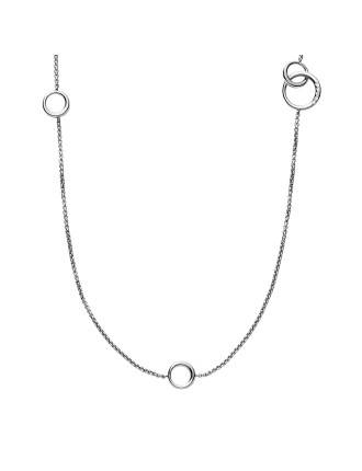 Elin Stainless Steel Silver-Tone Necklace