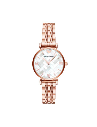Gianni T-Bar Rose Gold Watch