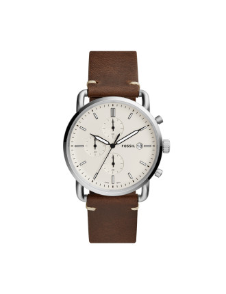 The Commuter Chrono Brown watch