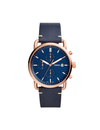 The Commuter Chrono Blue watch