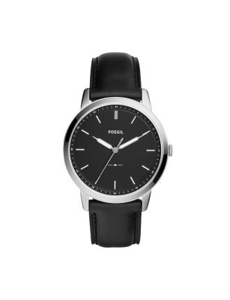 The Minimalist 3H Black watch