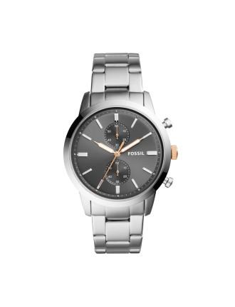 44Mm Townsman Silver Watch