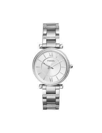 Carlie Silver Watch