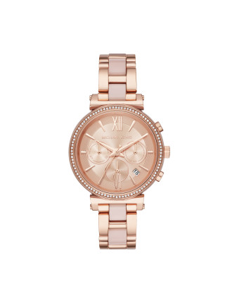 Sofie Rose Gold Watch