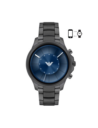 Alberto Gunmetal Display Smartwatch