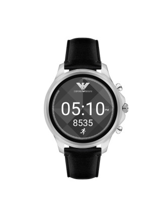 Alberto Black Display Smartwatch