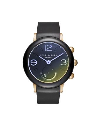 Riley Hybrid Black Hybrid Smartwatch