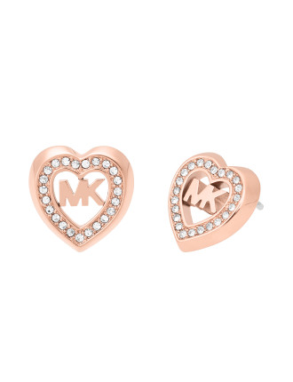 Love is in The Air Rose Gold Tone Stud Earring