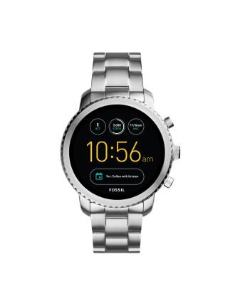 Q Explorist Silver Smartwatch