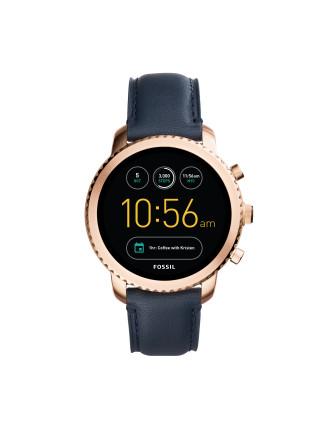 Q Explorist Blue Smartwatch