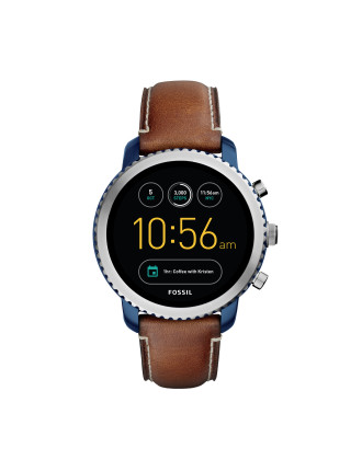 Q Explorist Dark Brown Smartwa