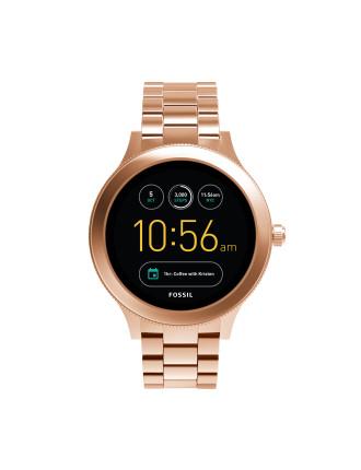 Q Venture Rose Gold-Tone Smart